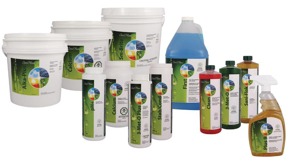 Produits chimiques pour piscine jf piscines for Produits pour piscine
