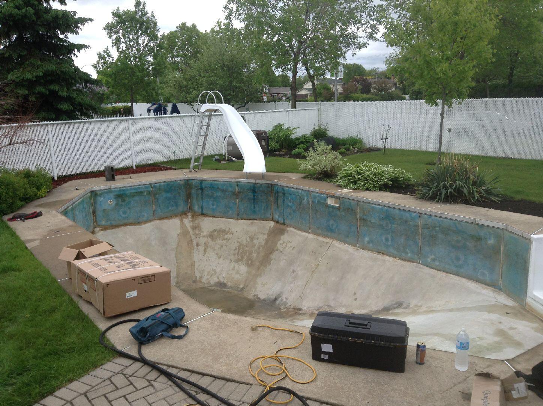 Renovation piscine for Piscine coque polyester pau