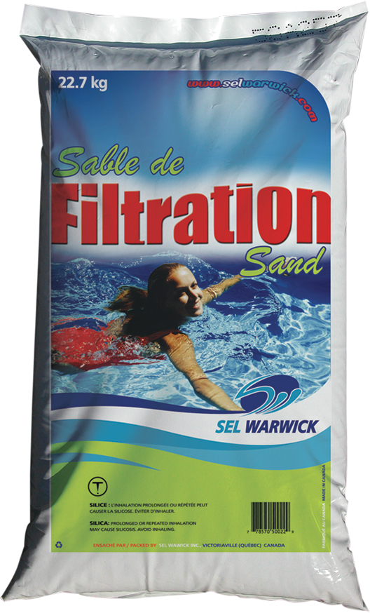 Sable de filtration (Sel Warwick)